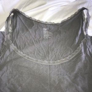Super soft and lacy gap tank